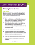 Analyzing Career Choices